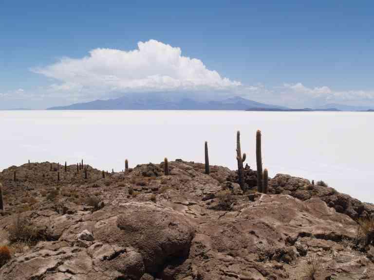 Salar de Uyuni, Bolivia by Annelieke Huijgens