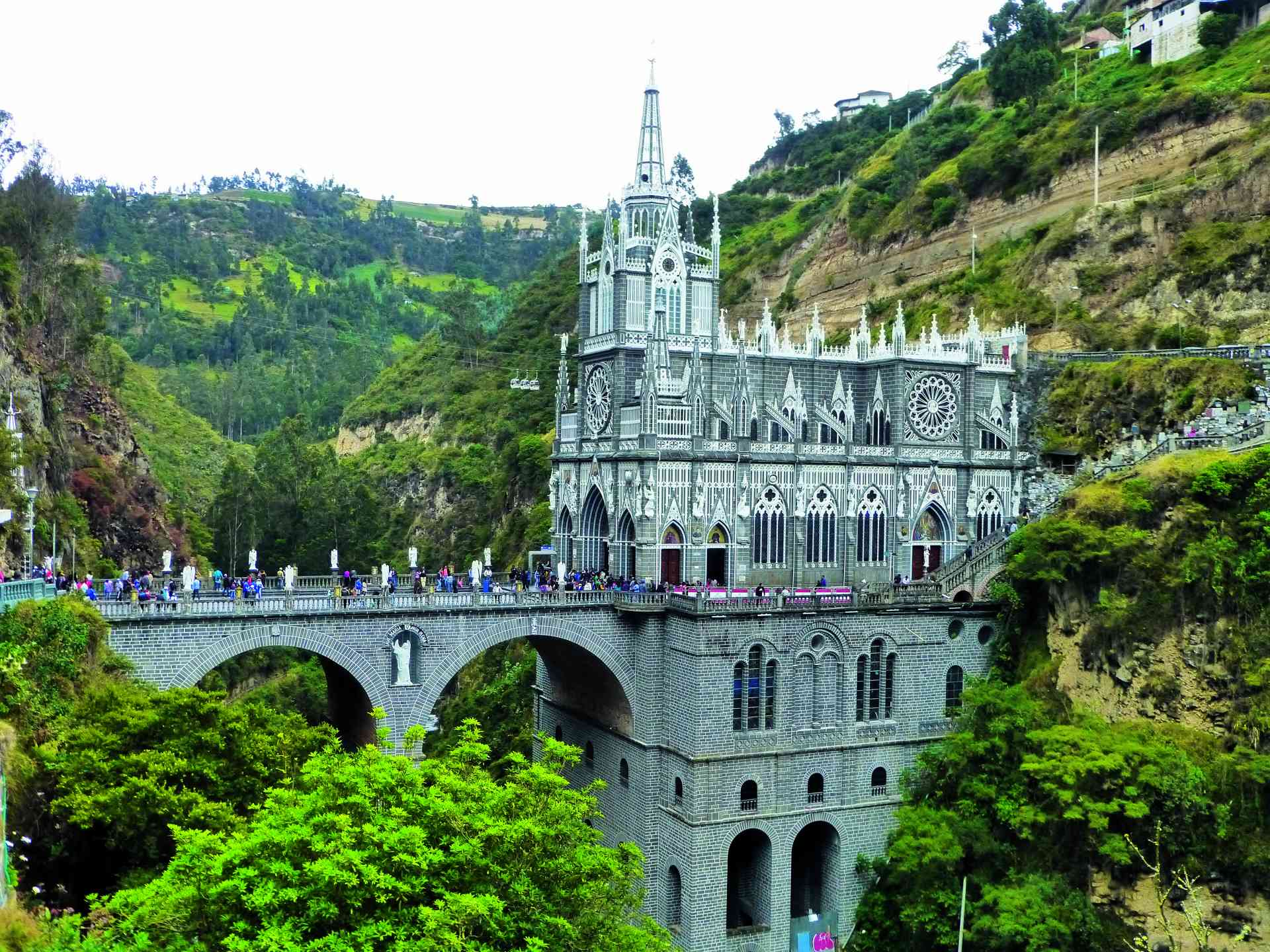 Las Lajas Sanctuary, Colombia by Sacha Bunnik