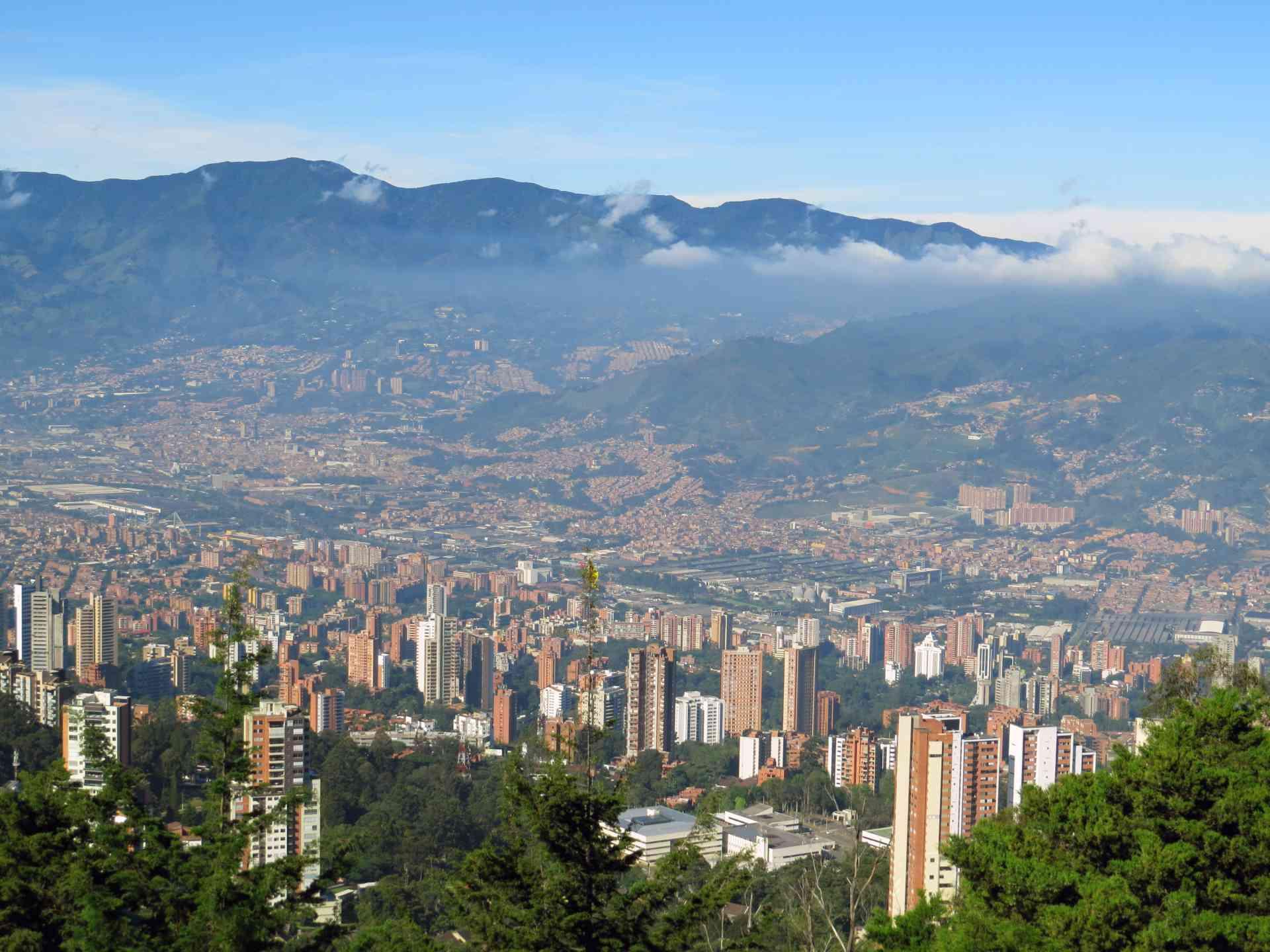 Medellin, Colombia by Marion Bunnik