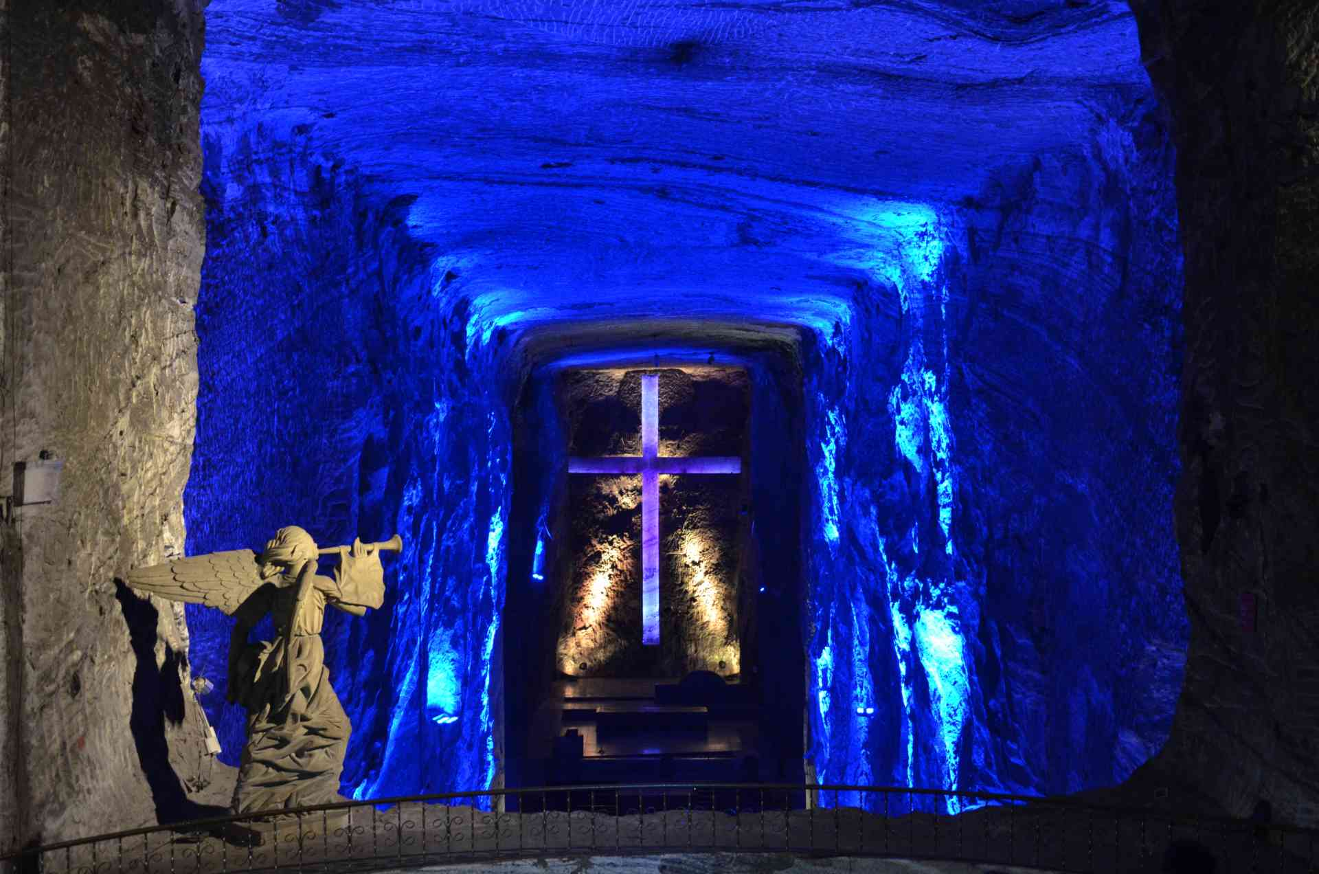 Salt Cathedral of Zipaquirá, Bogota by Annelieke Huijgens