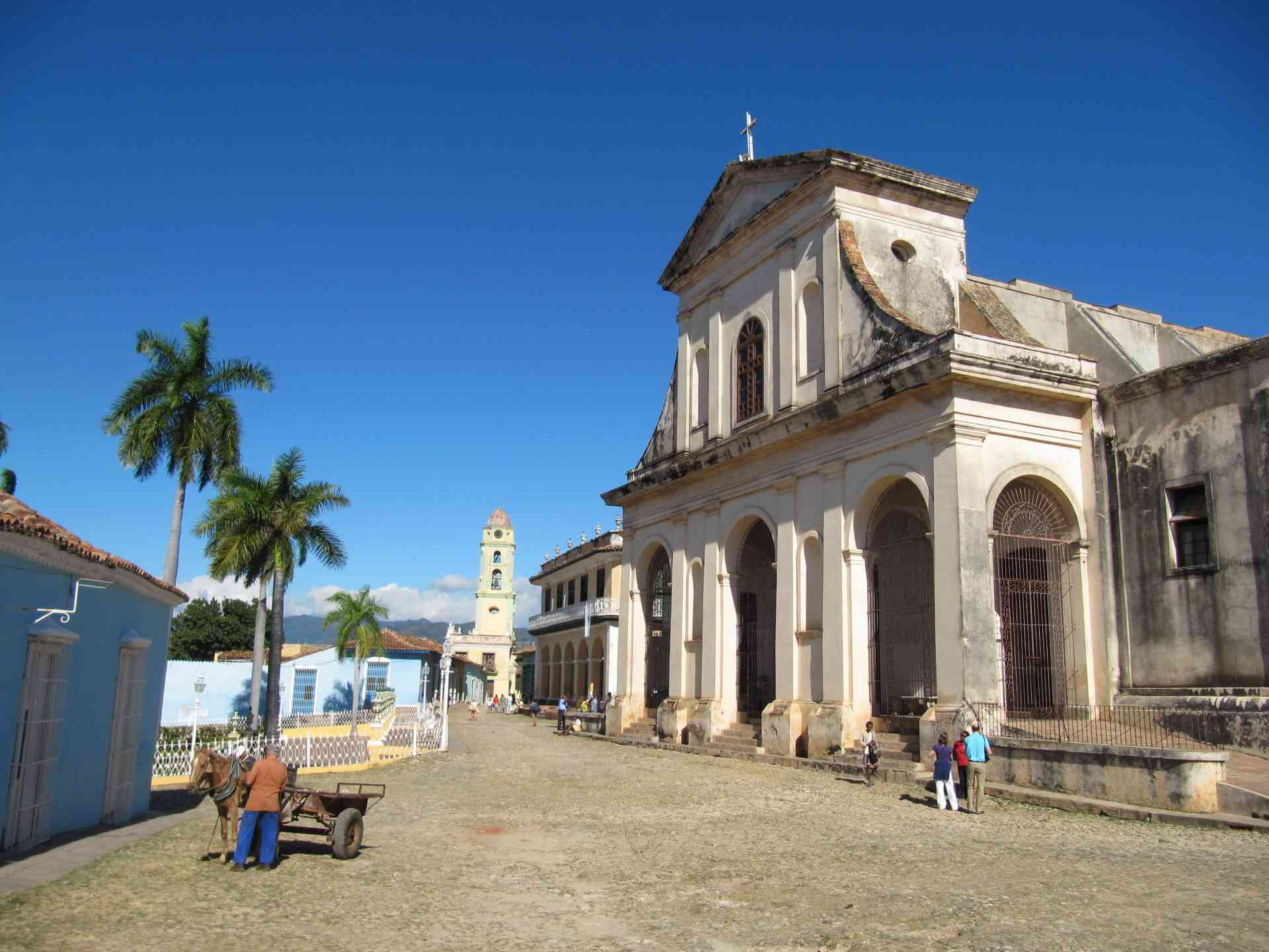 Church of Holy Trinity, Trinidad, Cuba by Frank Bunnik
