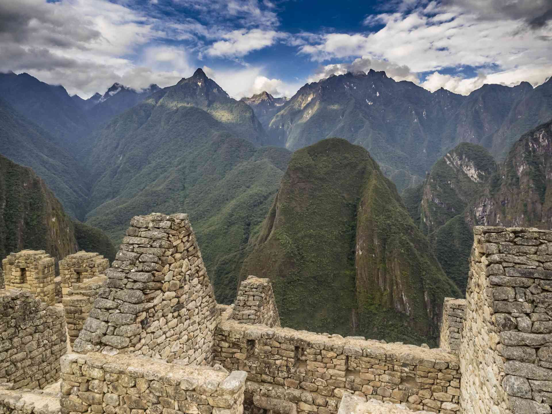 Machu Picchu, Peru by David Hein