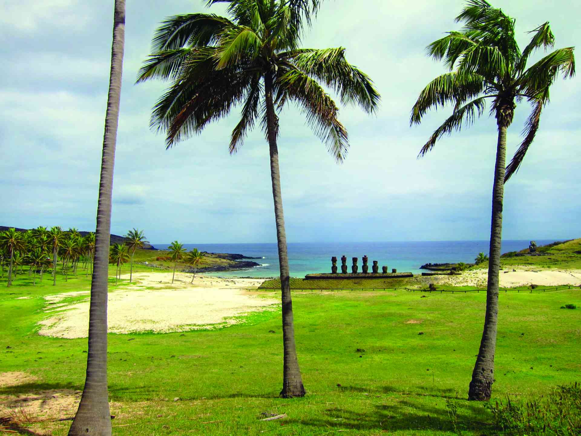 Anakena Beach, Easter Island by Travel Way of Life