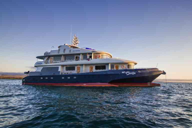 Camila luxury yacht, Galapagos, Ecuador