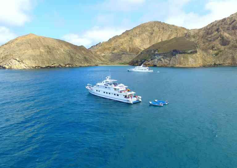 Coral I & II yachts, Galapagos, Ecuador