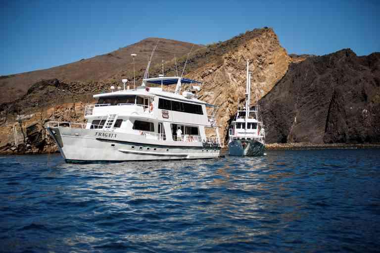 Fragata yacht, Galapagos Islands, Ecuador