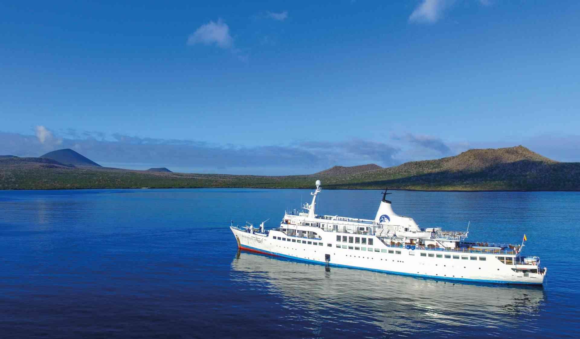Galapagos Legend cruise ship, Ecuador