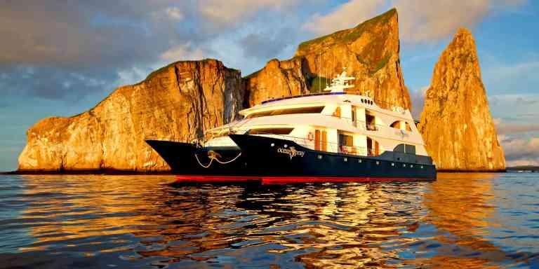 Ocean Spray luxury catamaran, Galapagos Islands, Ecuador
