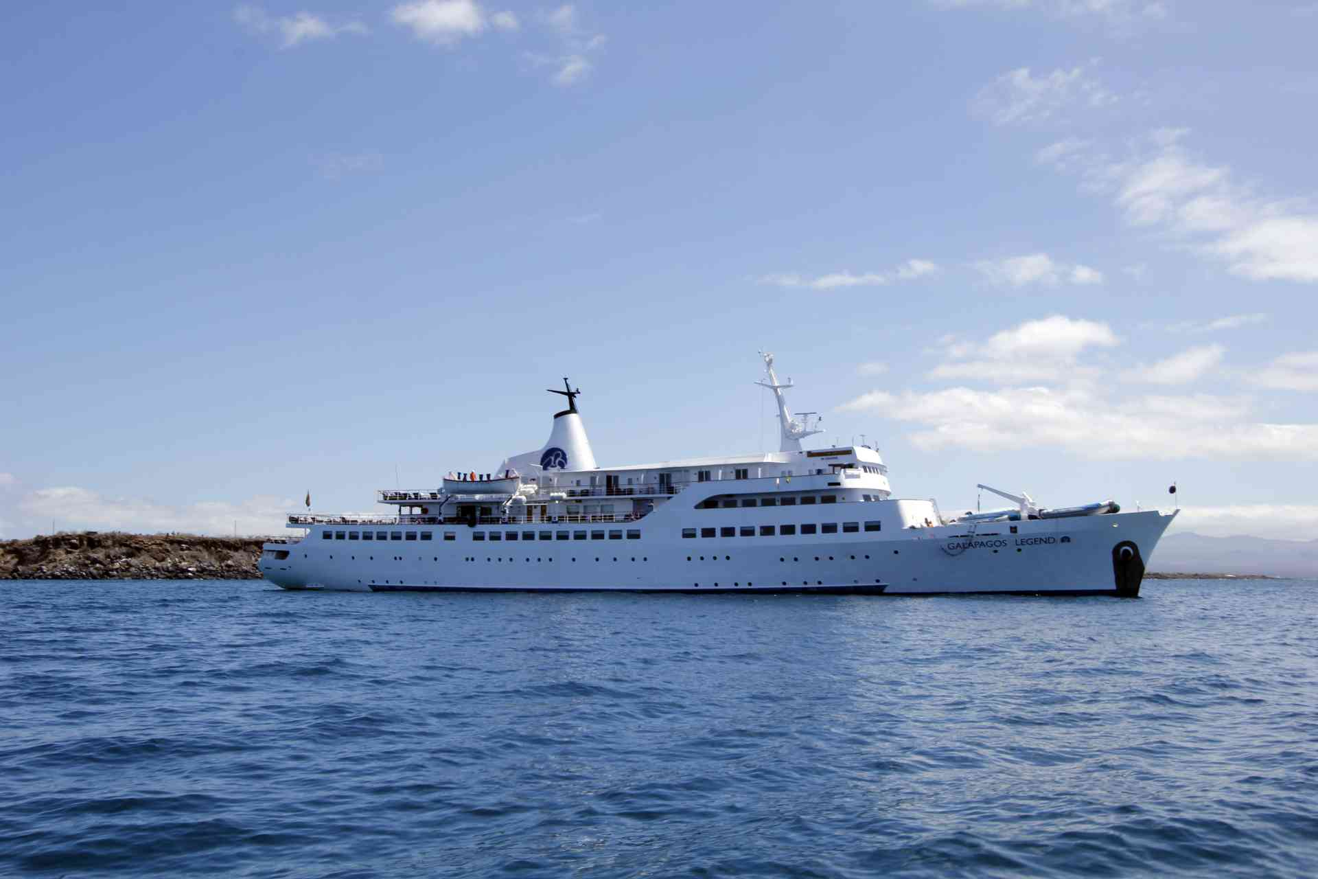 Galapagos Legend cruise ship, Ecuador by Kristi Rutten