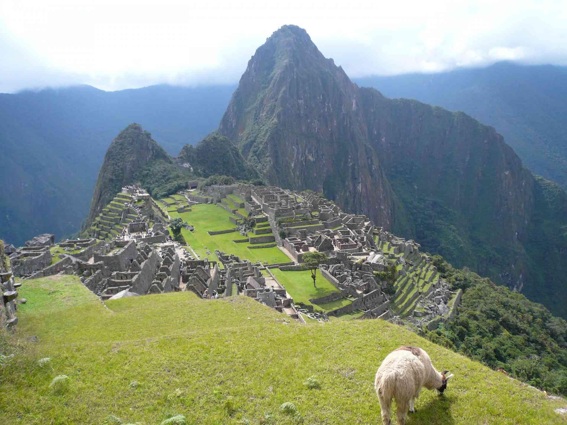 Machu Picchu, Peru by Marion Bunnik