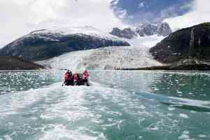 Pia Glacier, Chile by Australis Cruises