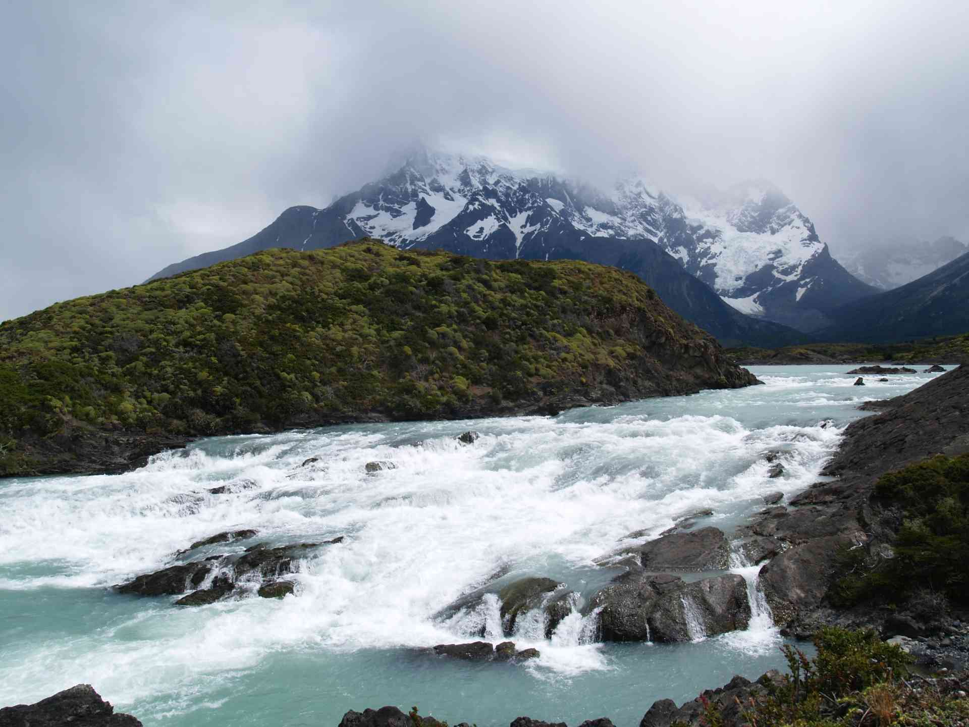 Rapids of Torres del Paine, Chile by Annelieke Huijgens