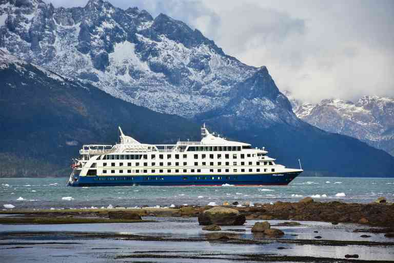 Stella Australis cruise ship, Chile by Australis Cruises