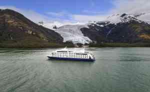 Ventus Australis cruise ship, Chile by Australis Cruises