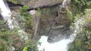 Devil's Cauldron waterfall, Baños, Ecuador by Jennifer Calnin