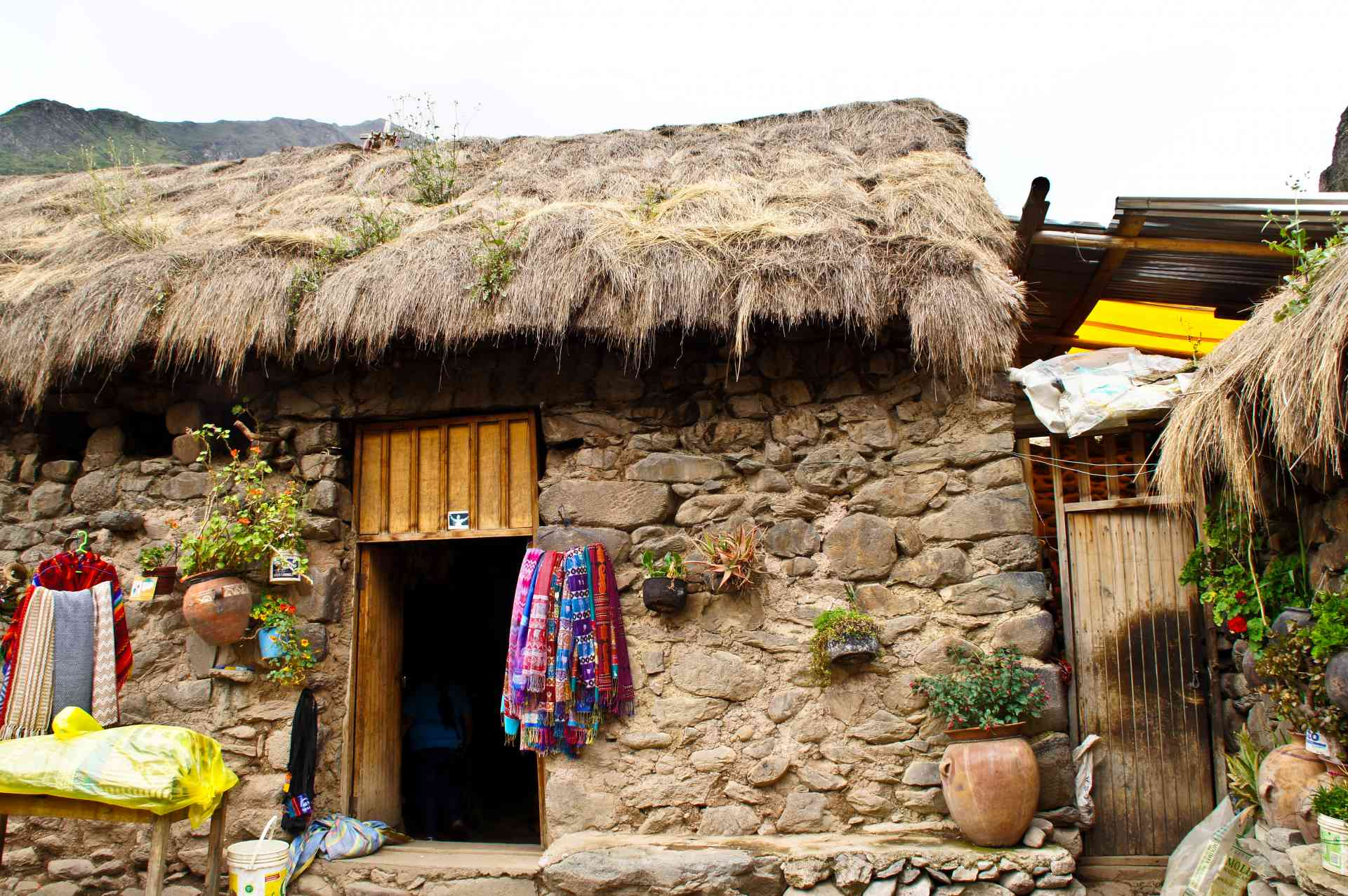 Local village in Peru by Priscilla Aster