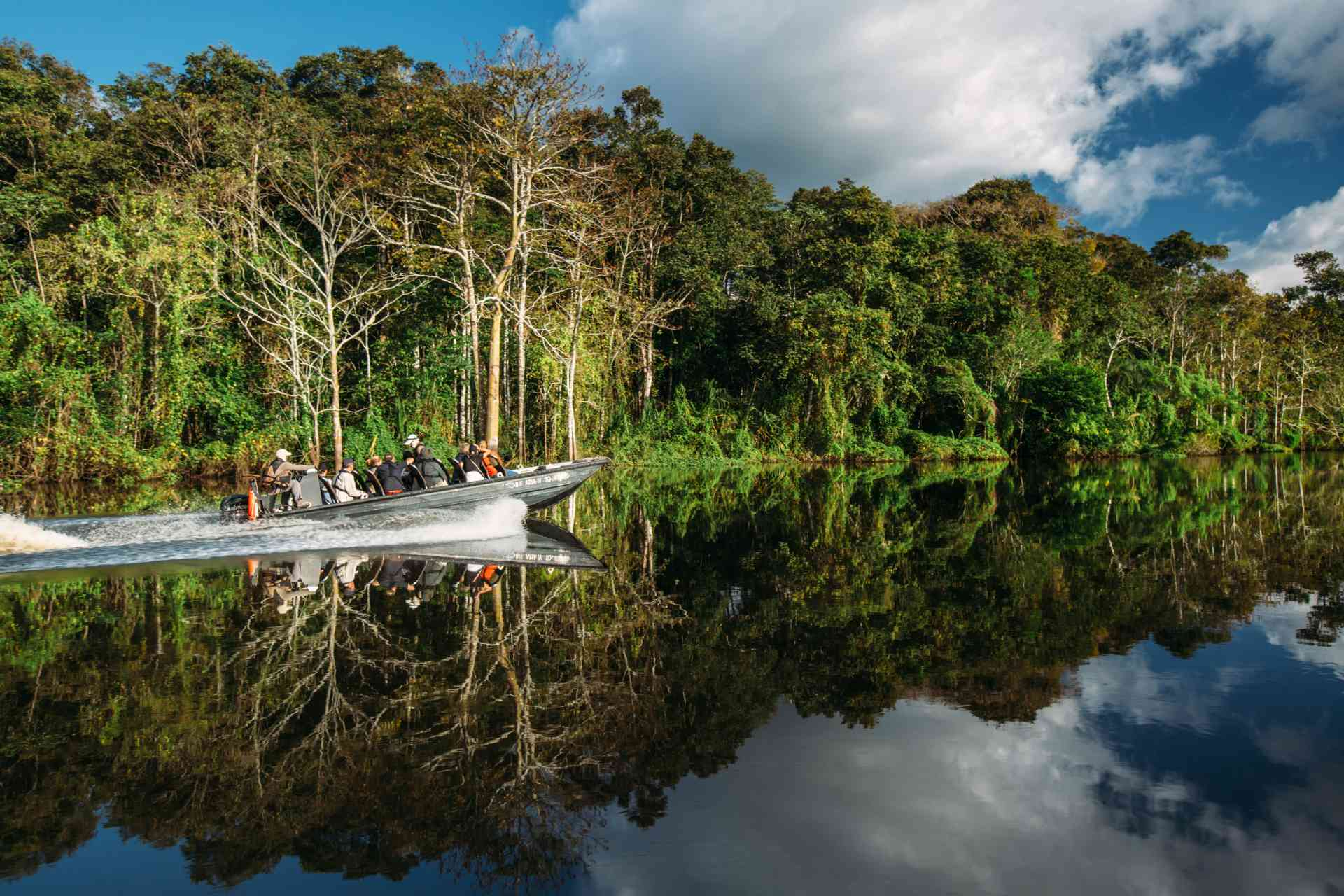 Amazon skiff excursions, Peru by Aqua Expeditions