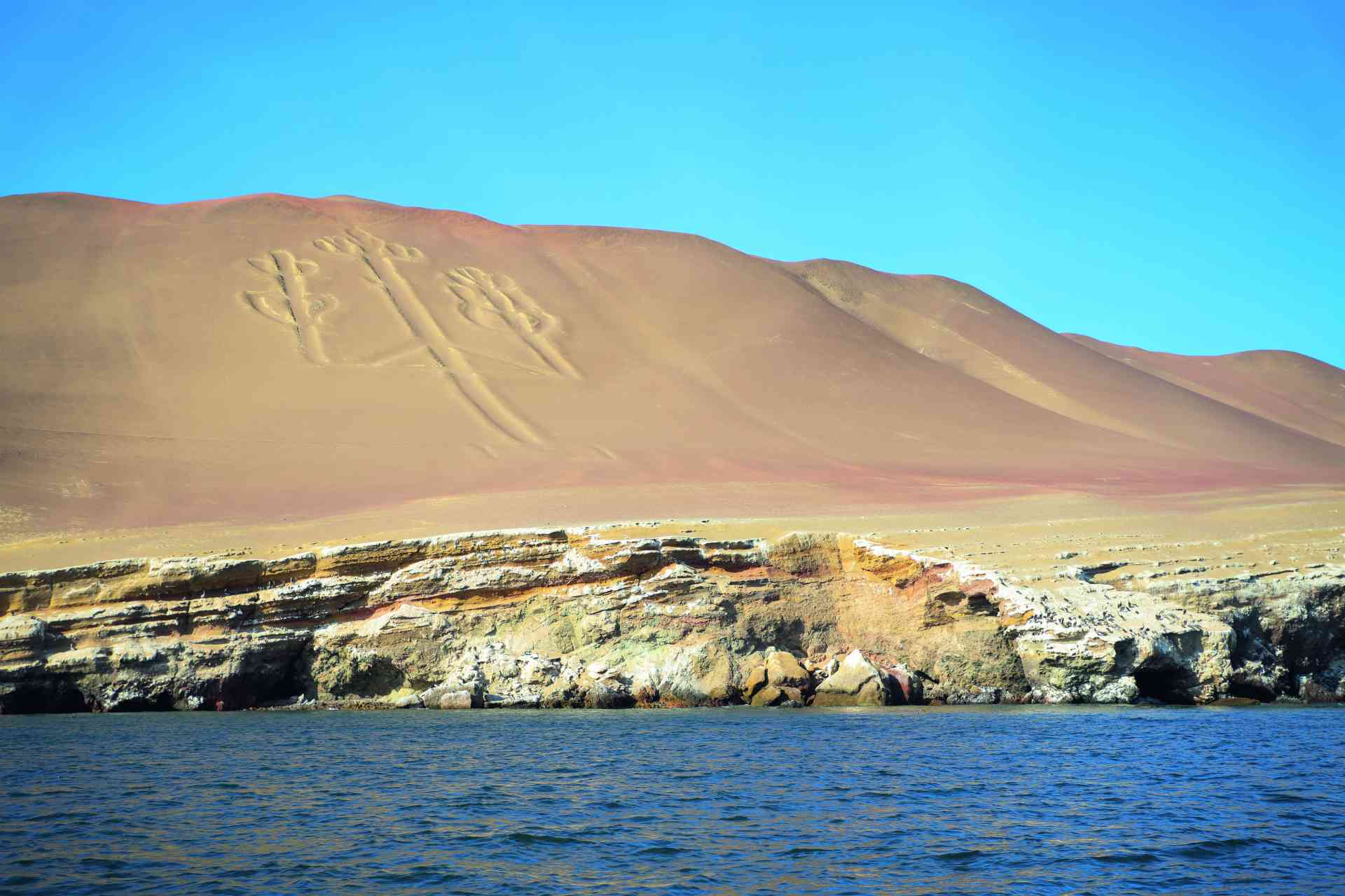 Candelabro, Ballestas Islands, Peru