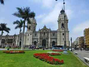 Cathedral of Lima, Peru by Sacha Bunnik