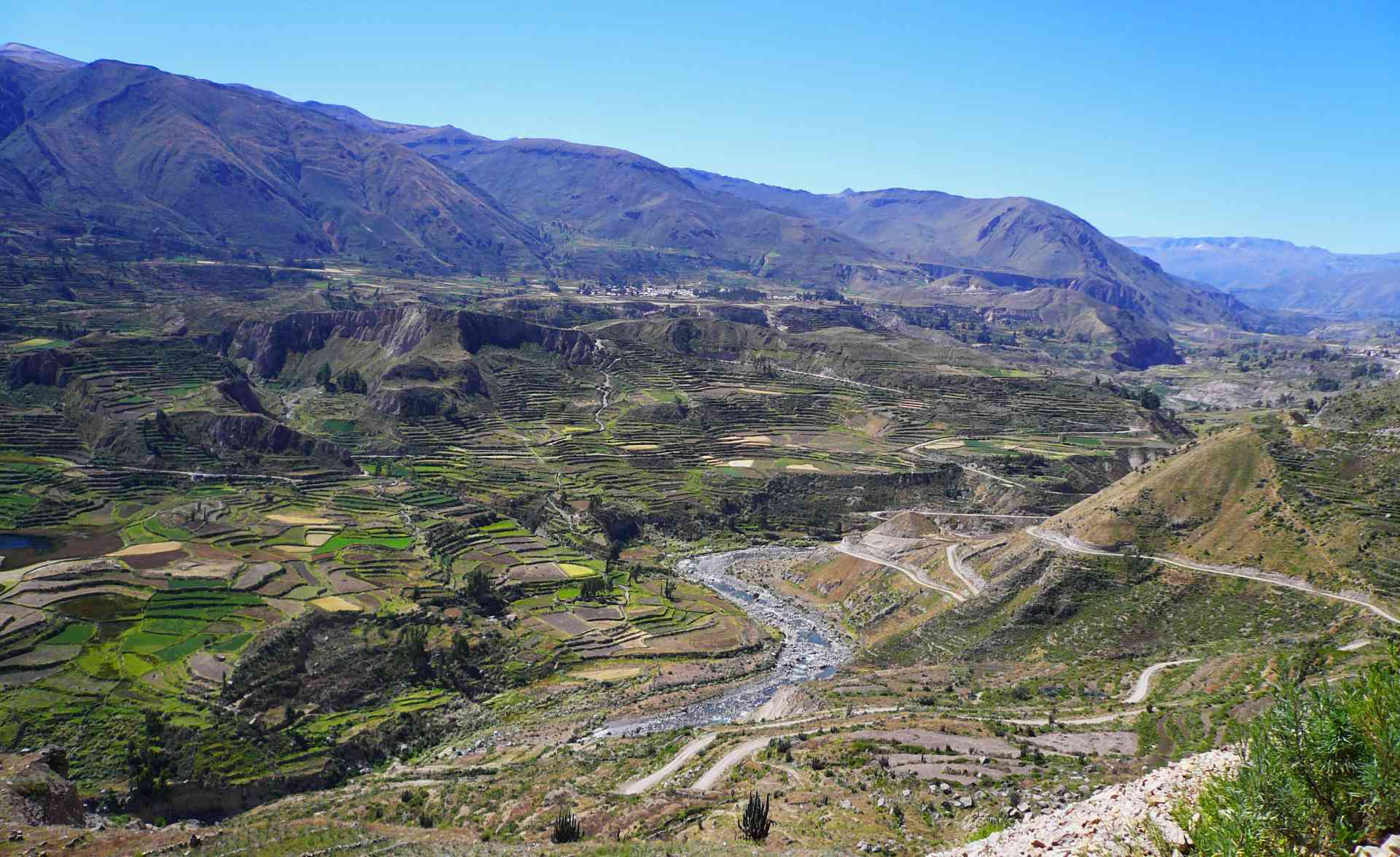 Colca Valley, Peru by Marion Bunnik