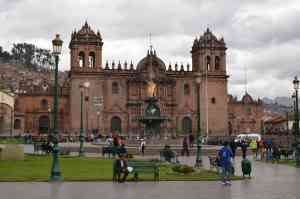 Cusco Cathedral, Peru by Annelieke Huijgens