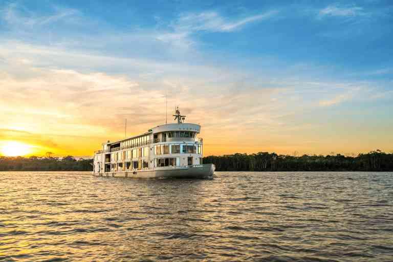 Delfin III Cruise Ship by Delfin Amazon cruises