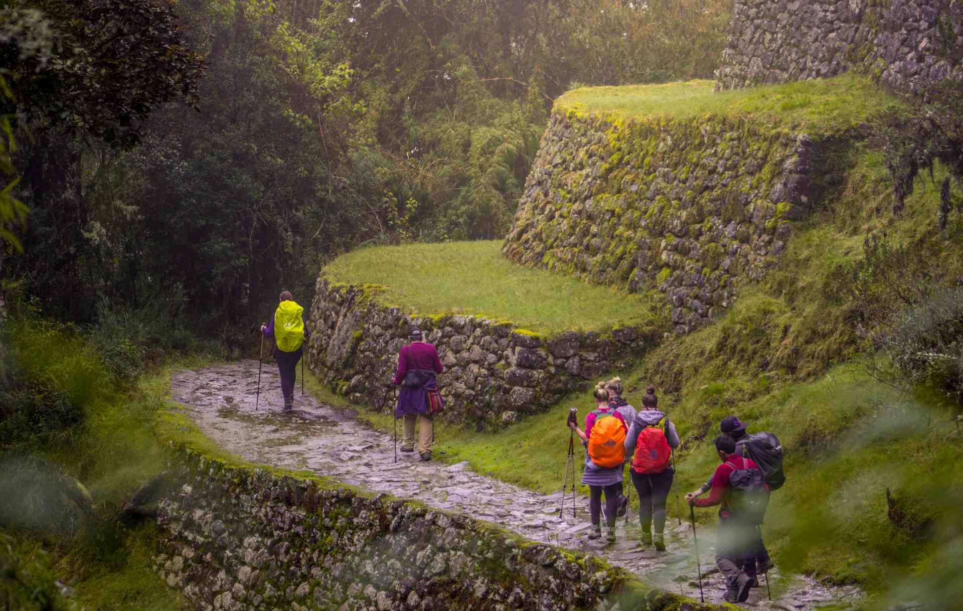 Trekking the Inca Trail, Machu Picchu by Erick Baca