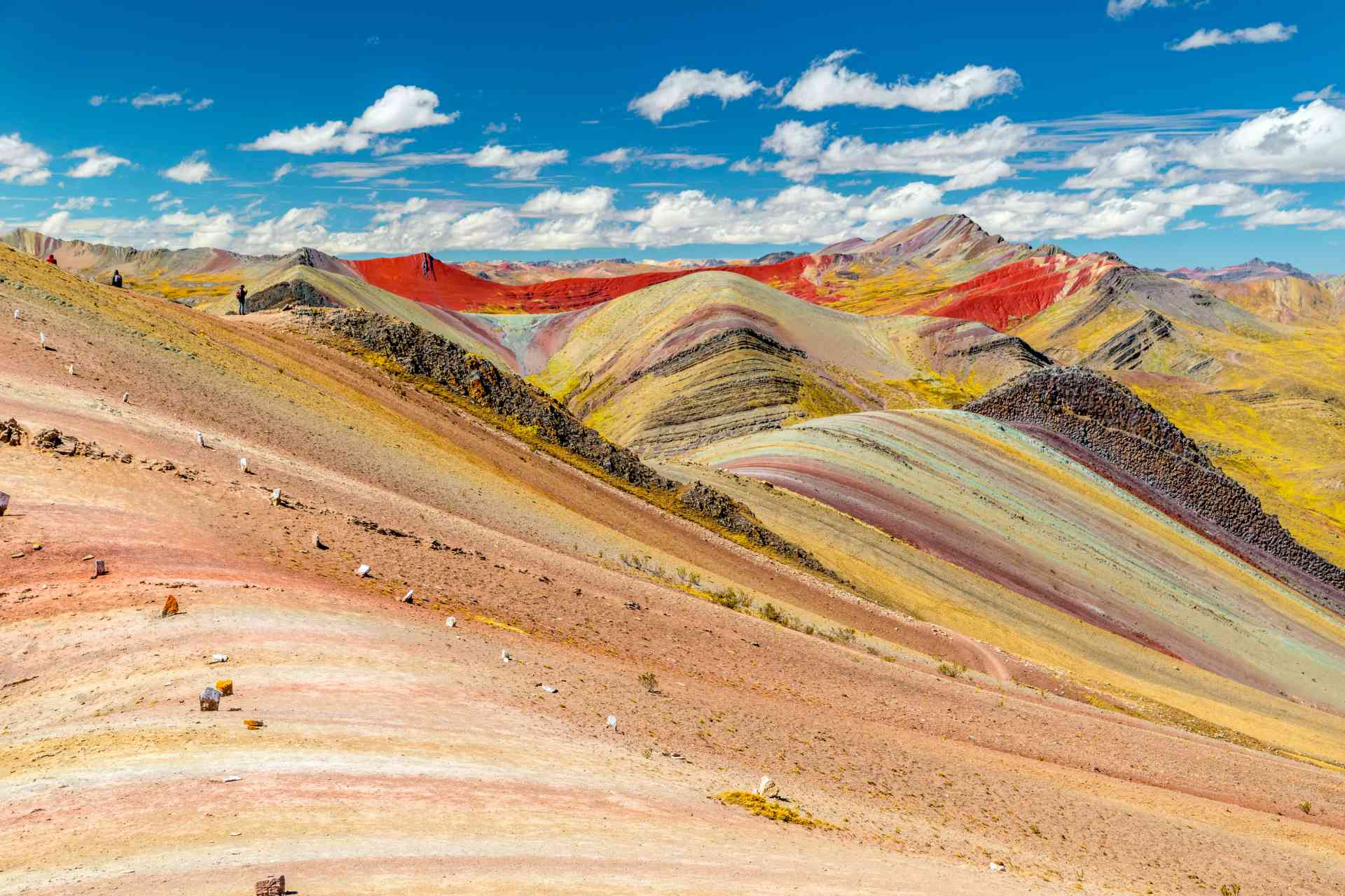 Palcoyo Rainbow Mountain, Peru by Adobe Stock