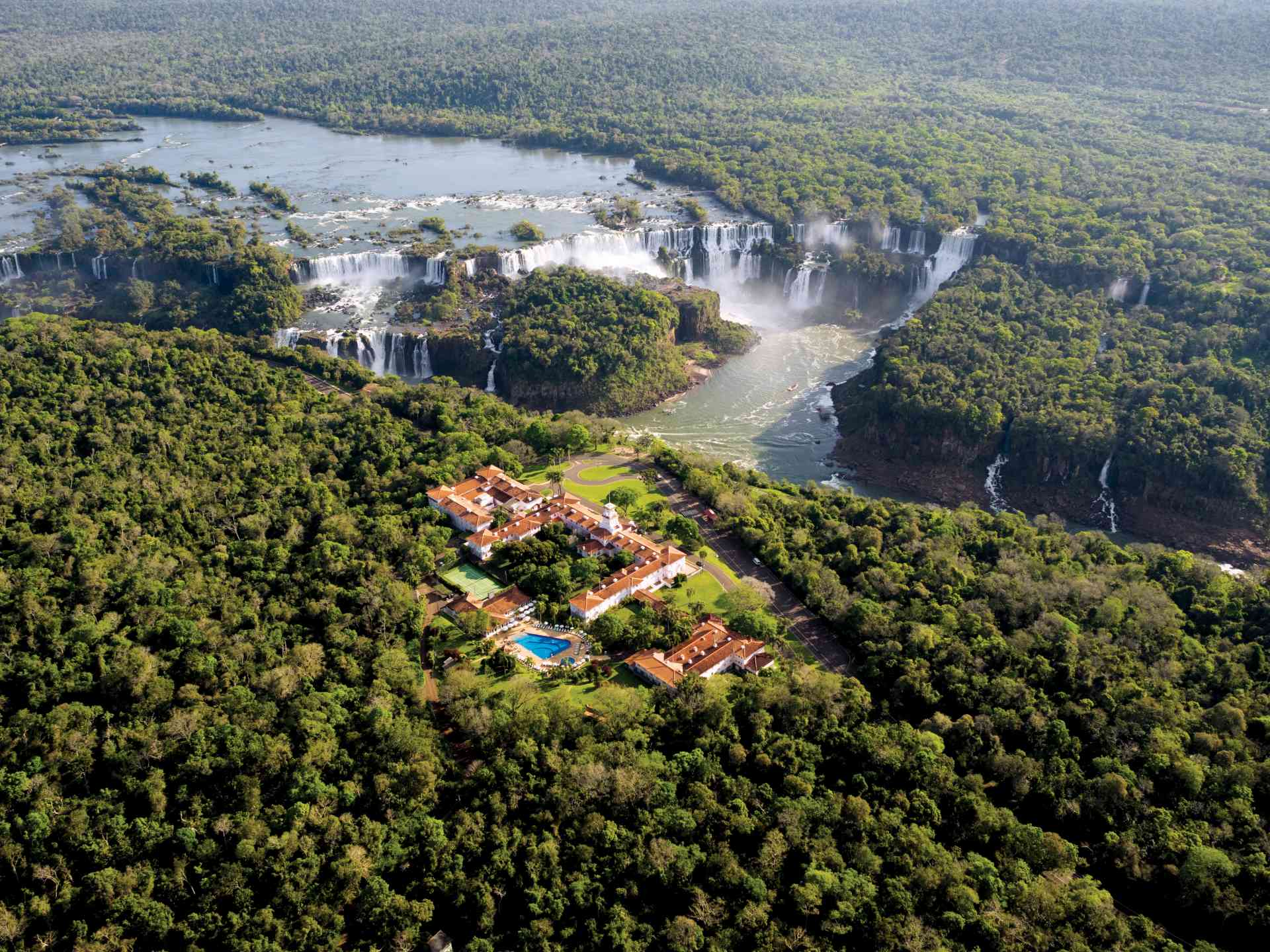 Belmond das Cataratas Hotel, Iguazu Falls, Brazil by David Hein