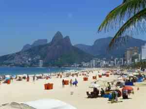 Copacabana Beach, Rio de Janeiro, Brazil by Dennis Bunnik