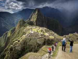 Machu Picchu, Peru by David Hein