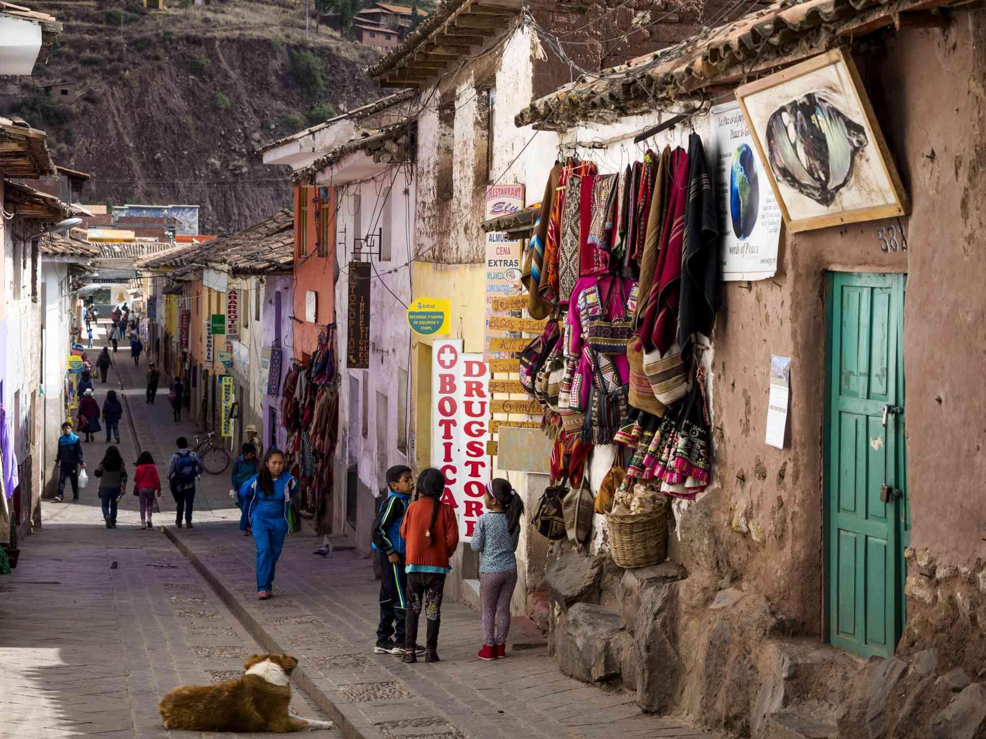 Pisac, Peru by David Hein