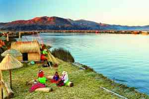 Uros Islands, Lake Titicaca by Belmond Images