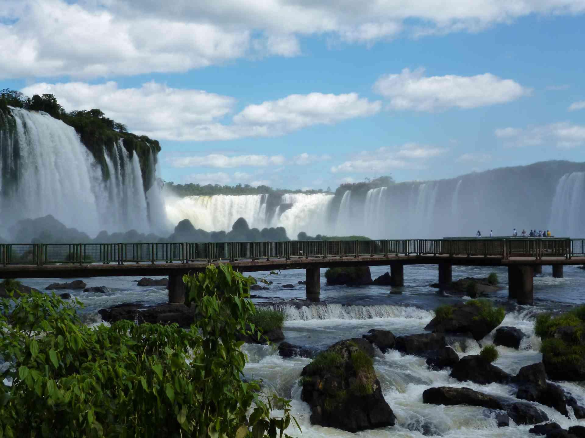 Iguazu Falls, Brazil by Chloe Marshman
