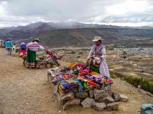 Locals in Colca Canyon, Peru by Marion Bunnik