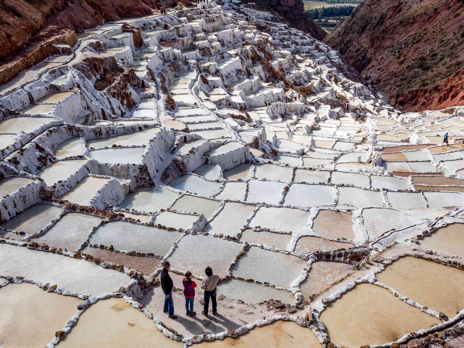 Salt ponds of Maras, Peru by David Hein