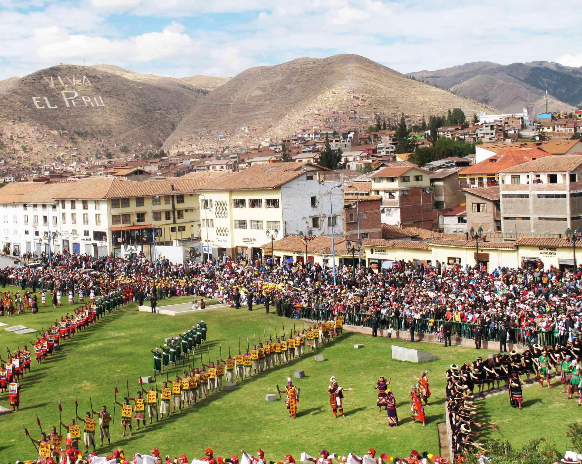 Raymi Festival, Cusco, Peru by Michelle Blair