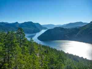 Bariloche Lakes, Argentina by Matt Baldock