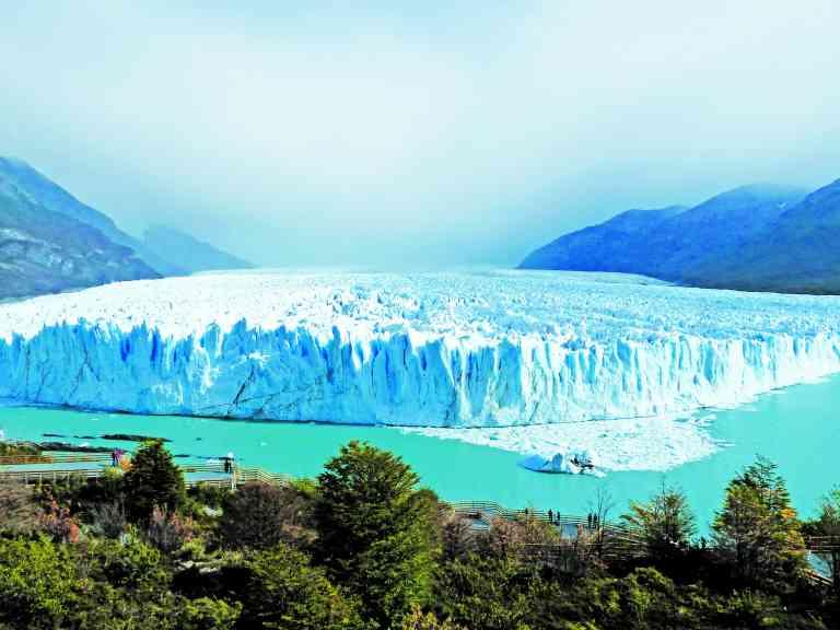 Perito Moreno Glacier in Los Glaciares National Park, Argentina by Sacha Bunnik