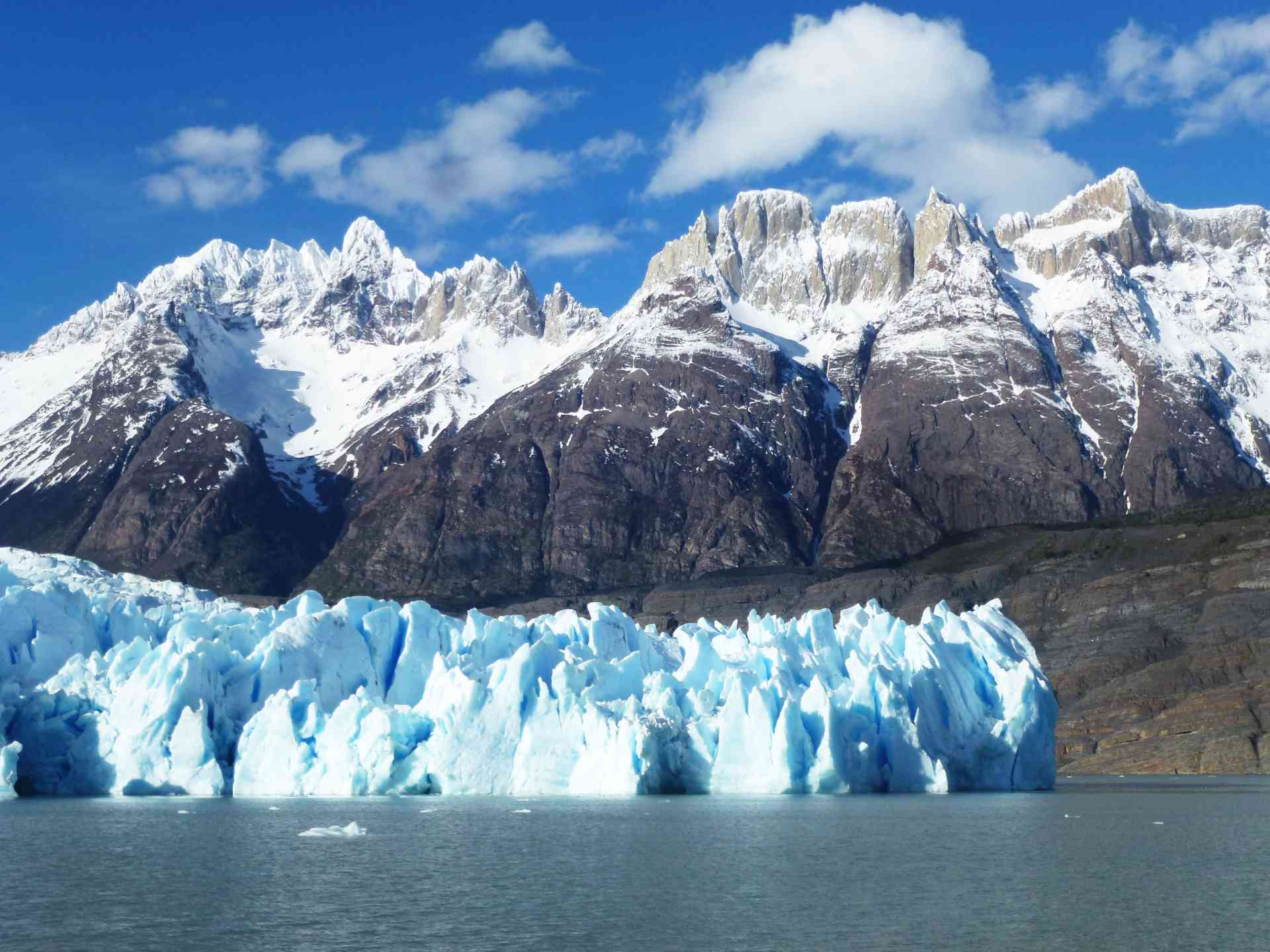 Grey Glacier in Torres del Paine National Park, Chile by James Atwell