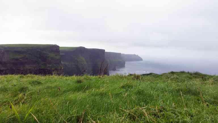 Cliffs of Moher, Ireland by Rachel Footner