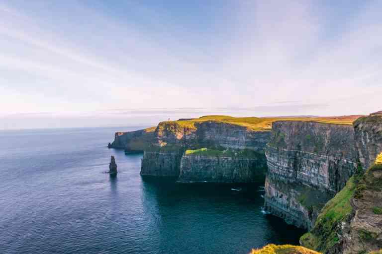 Cliffs of Moher, Ireland by John Finkelstein/Unsplash