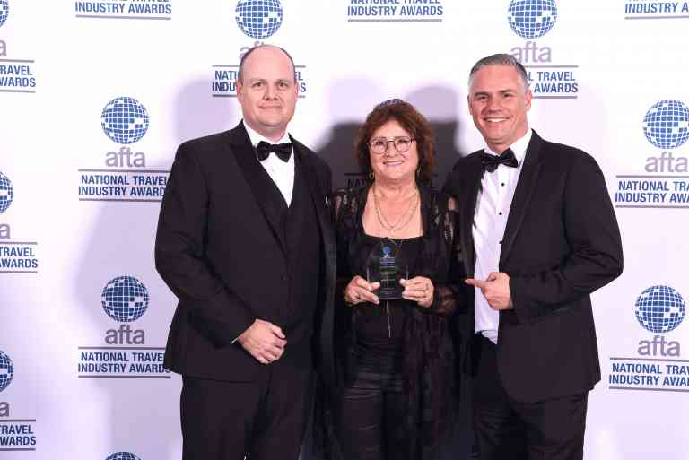 Winners of the National Travel Industry Award in 2019 for Best Tour Operator International