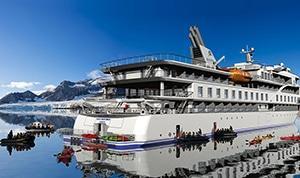 Sylvia Earle zodiac docks