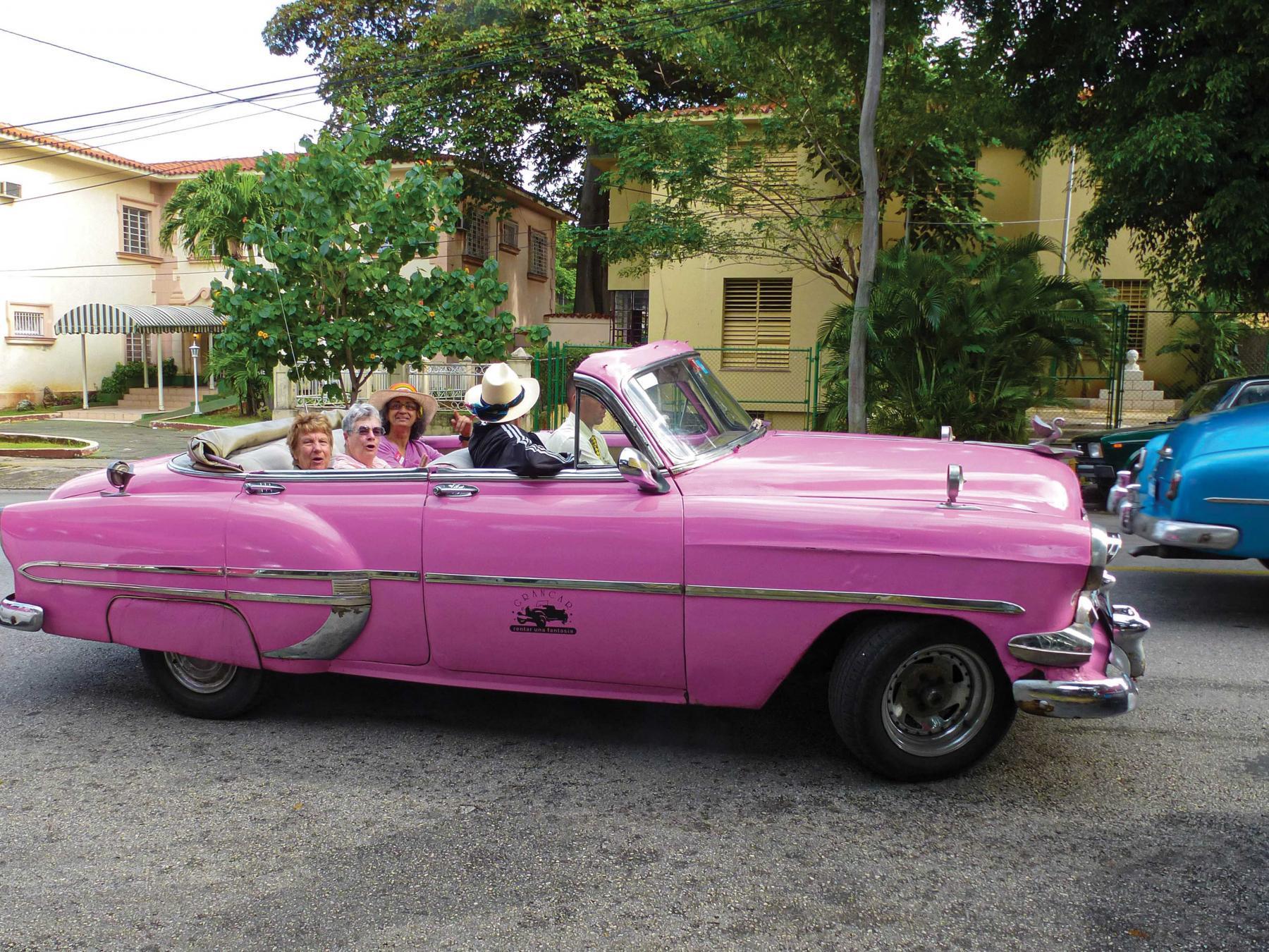 SCA - Cuba - classic car