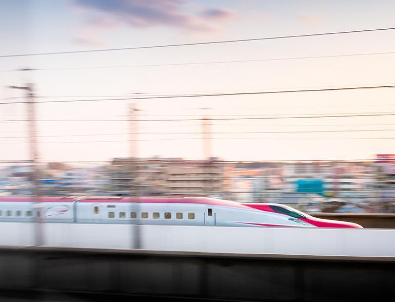 Japan's Shinkansen bullet train