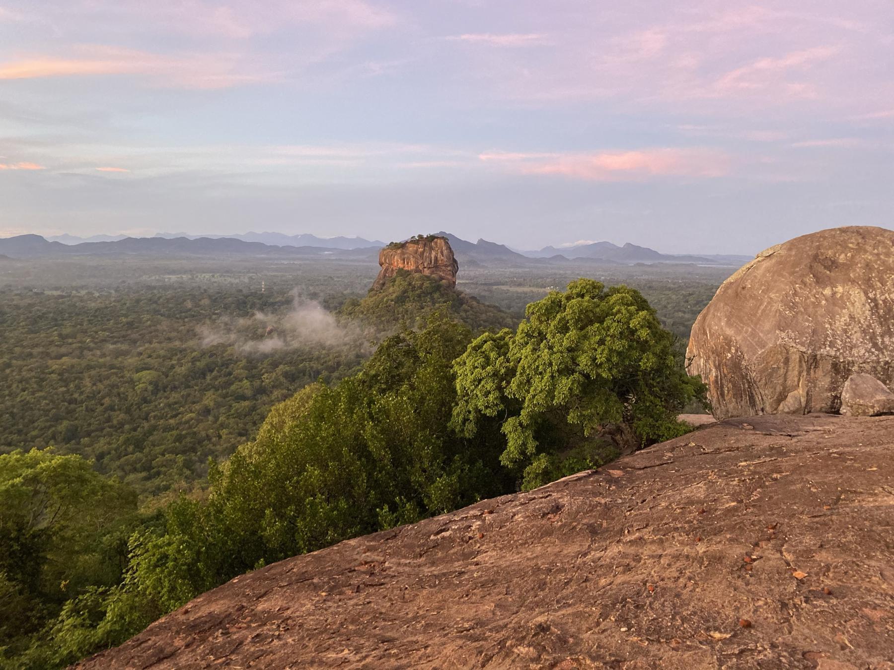 View of Sigiriya Rock