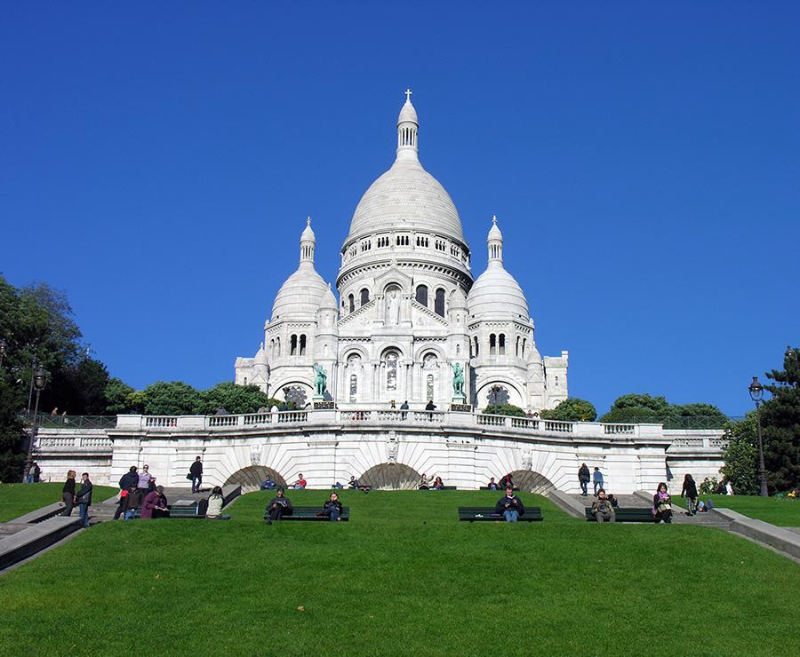 Sacre Coeur, Paris – Landscape Shot