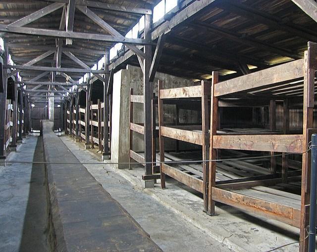 Sleeping quarters, Auschwitz II & Birkenau