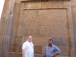 Kom Ombo with Sacha